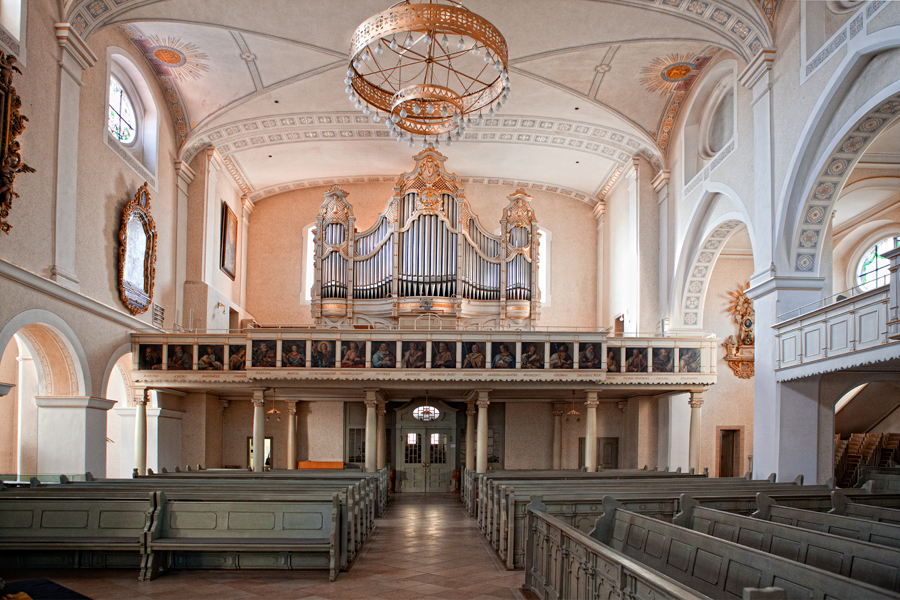 Stadtkirche Giengen Innenansicht