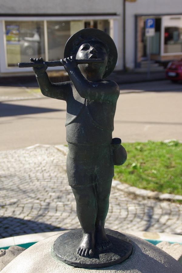 Flötenjunge