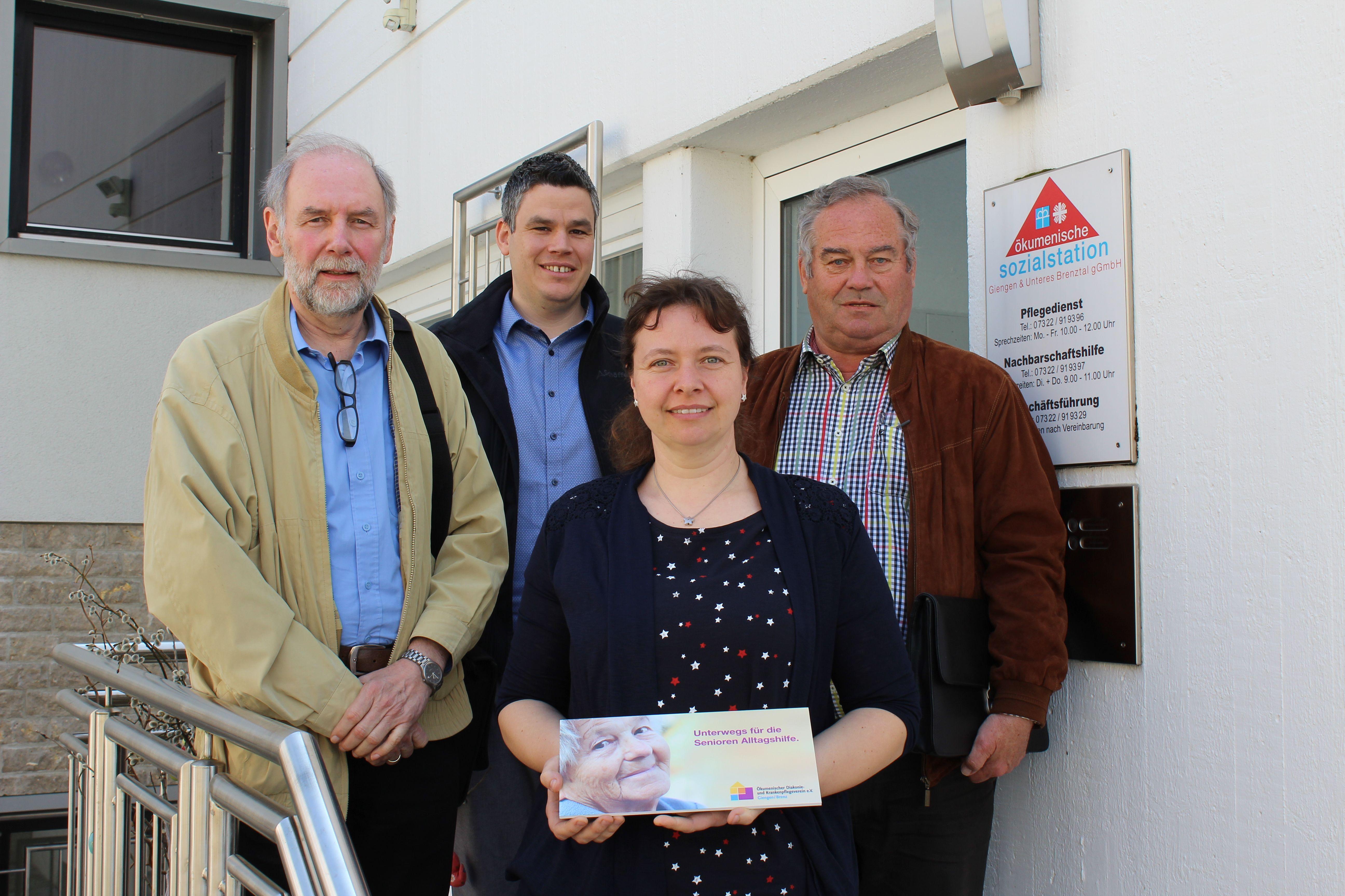 """Besuch Projekte """"Sternenkässle"""": Seniorenhilfe im ÖDKV"""
