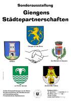 Giengens Städtepartnerschaften