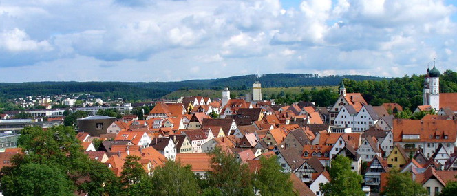 View on Giengen