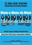Flyer Konzert Mann-oh-Mann 23.03.2019