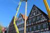 Aufstellung Maibaum 2018 Copyright Stadt Giengen