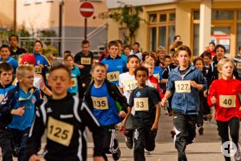 Kinderstart beim Stadtlauf 2012