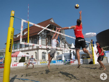 Beach Volleyball Finaltag Herren 2012