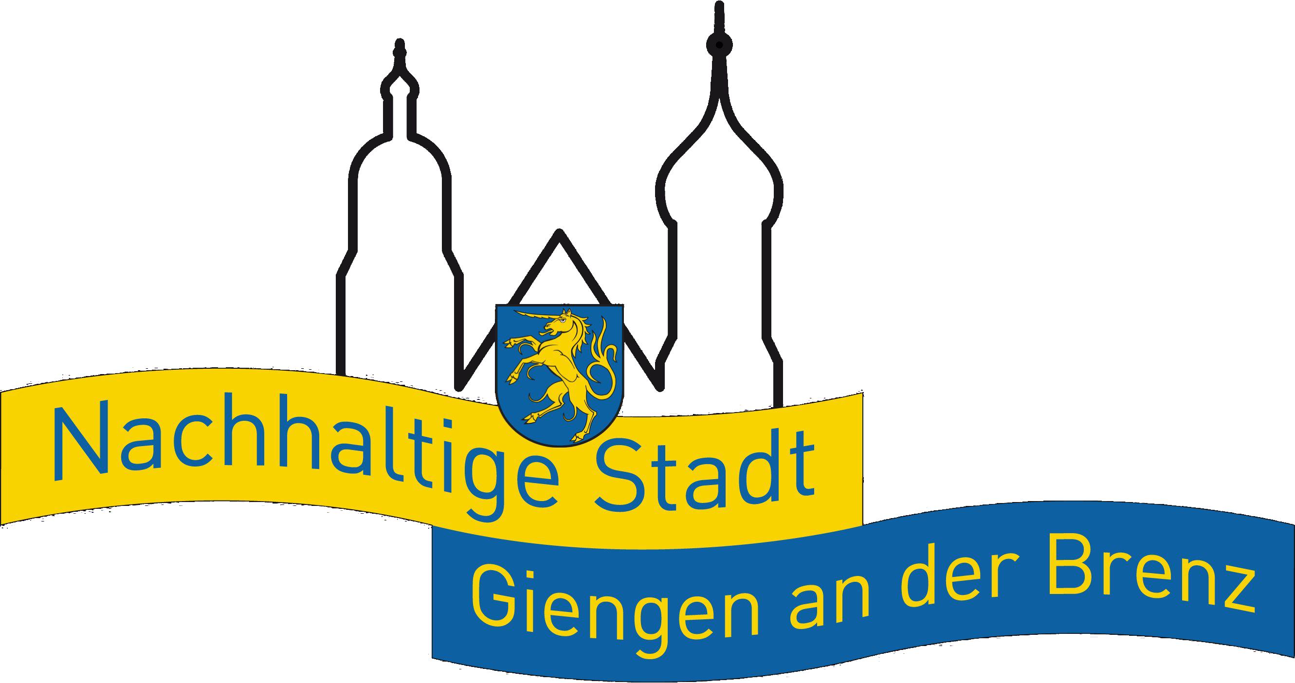 Logo Nachhaltige Stadt mit weißem Hintergrund
