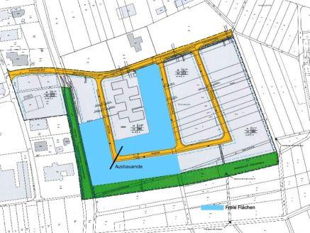 Lageplan Industriegebiet Steinwiesen