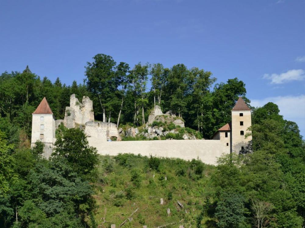 Ansicht Kaltenburg, Foto: IG Kaltenburg