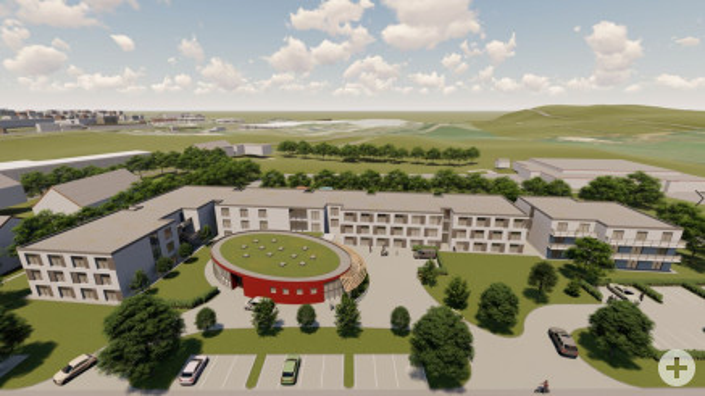 Neues DRK-Pflegezentrum - Foto Immotec Offenbach