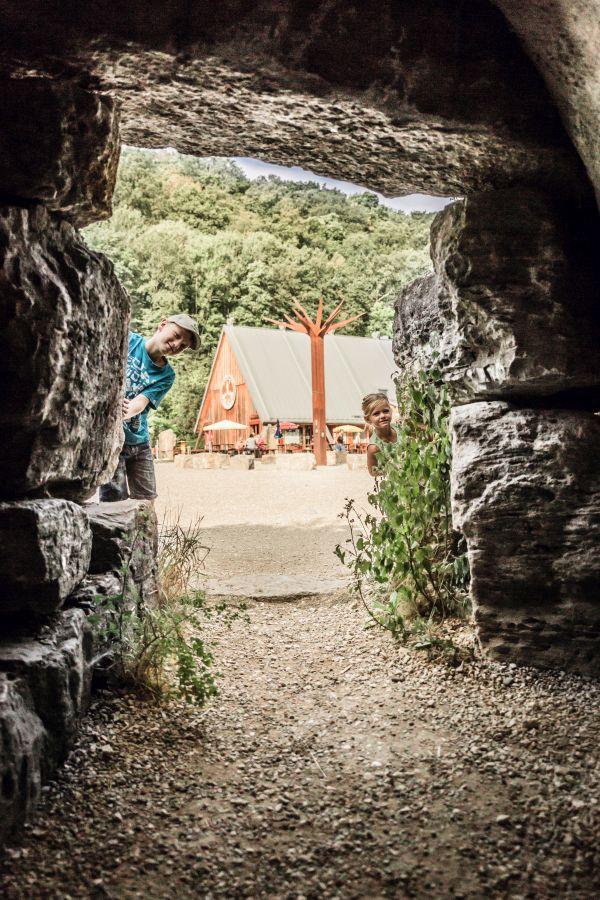 Blick aufs HöhlenHaus - Copyright Stadt Giengen