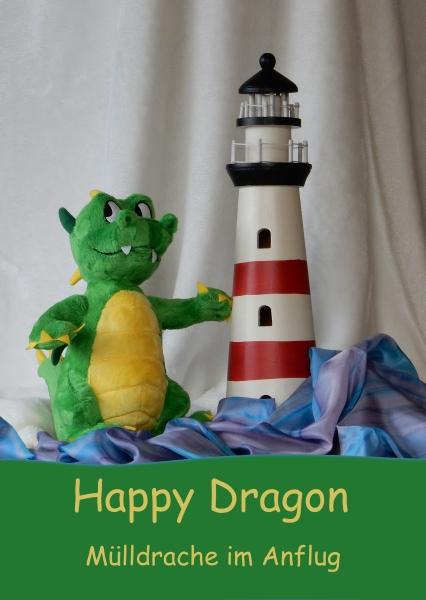 Happy Dragon Postkarte