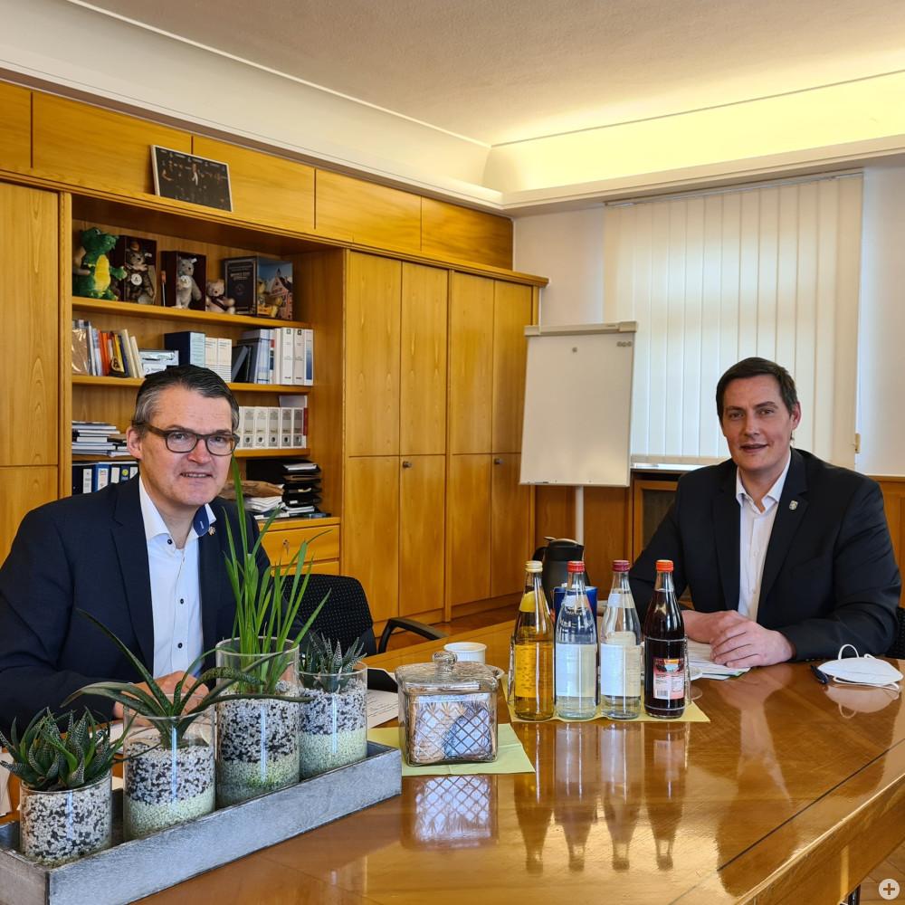 MdB Roderich Kiesewetter und OB Dieter Henle