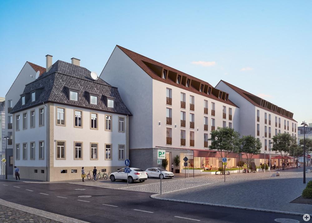 Lamm-Areal - Ansicht Lange Straße