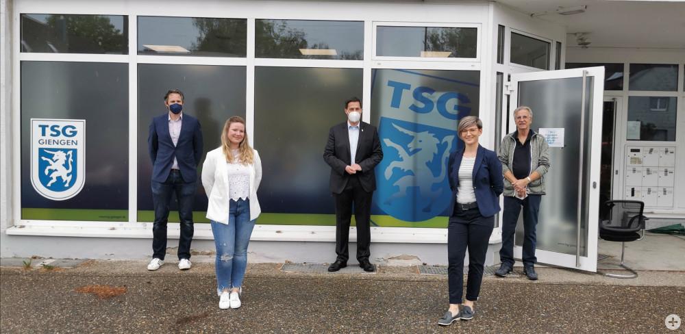 Einweihung der neuen TSG Geschäftsstelle